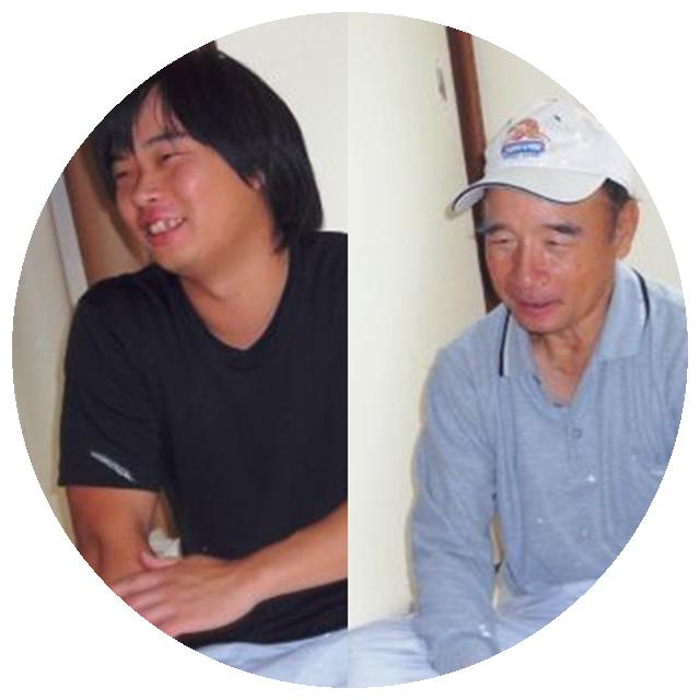 佐藤勝司さん、佐藤崇さん