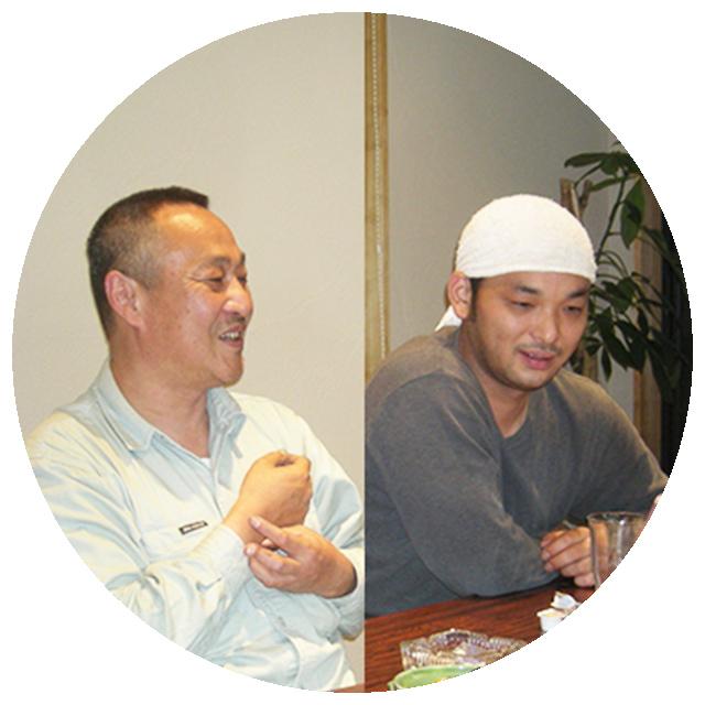 杉山弘さん、和志さん